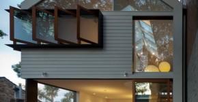 planos de pequea casa de dos pisos interiores luminosos y brillantes con apertura de claraboya en techo