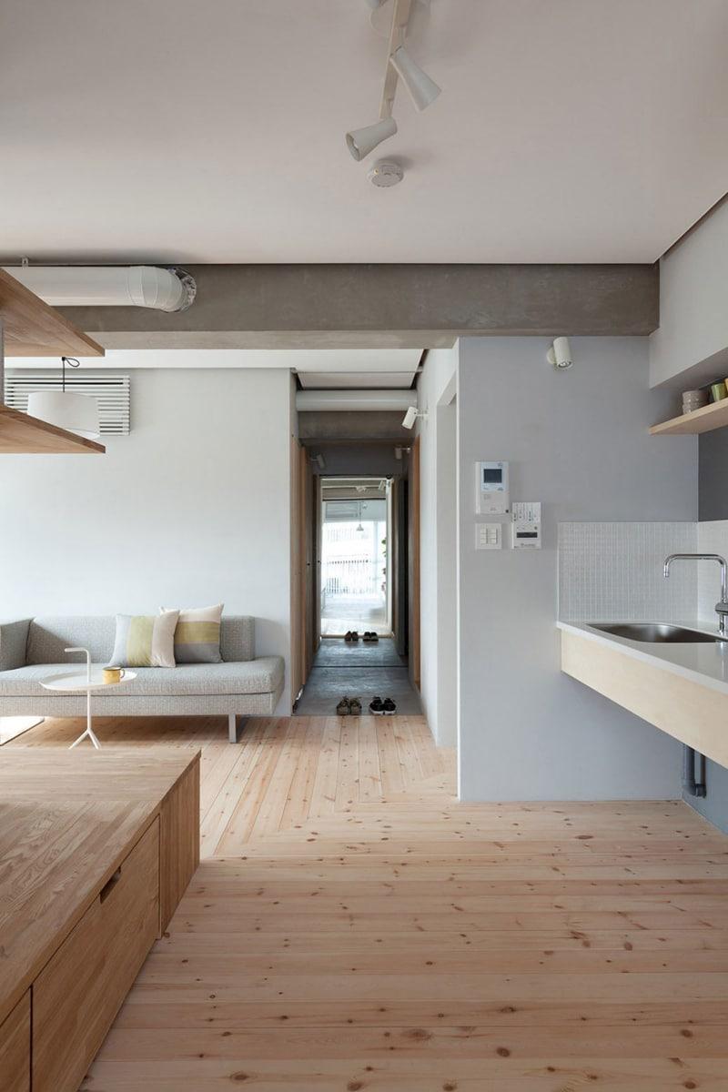 Plano Departamento Peque O Dos Dormitorios Construye Hogar