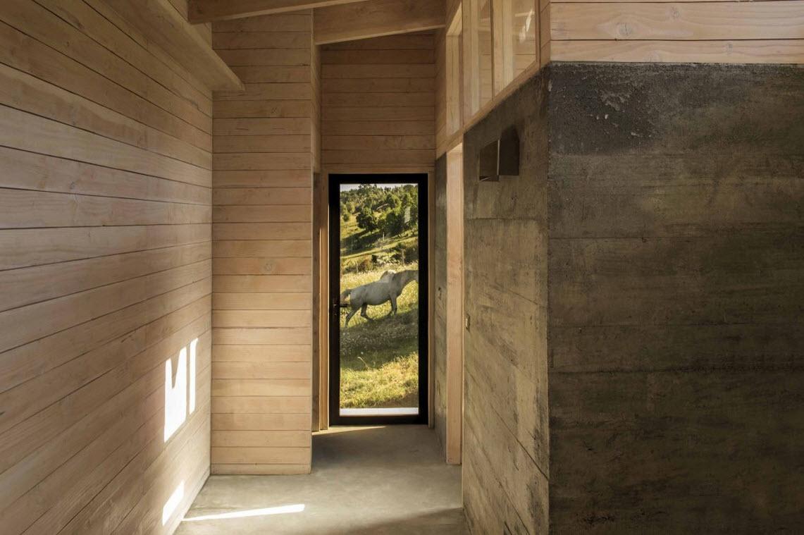 Planos de casa de campo de un piso construye hogar - Casas de cemento y madera ...