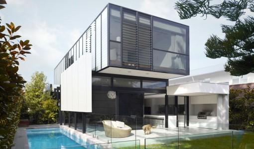 Planos de casas construye hogar for Casa moderna rectangular
