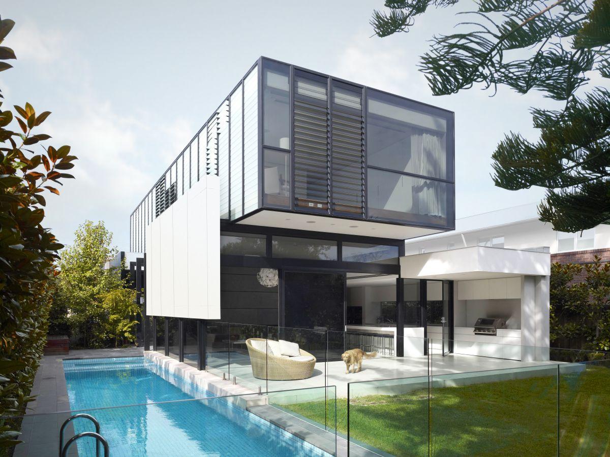 Dise o casa dos plantas moderna planos construye hogar for Good interior designs for the home