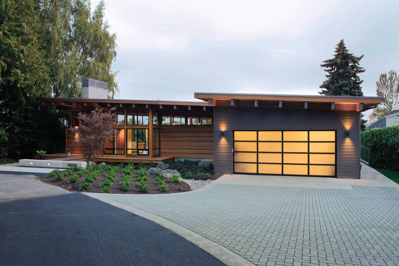 Dise o de casa de madera de una planta construye hogar for Home designs vancouver