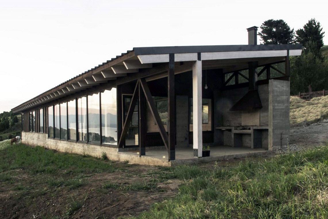 Planos de casa de campo de un piso construye hogar for Construccion casas de campo