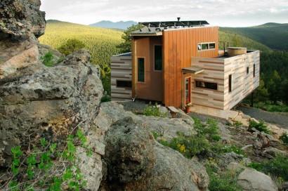 Diseño de casa contenedor moderna