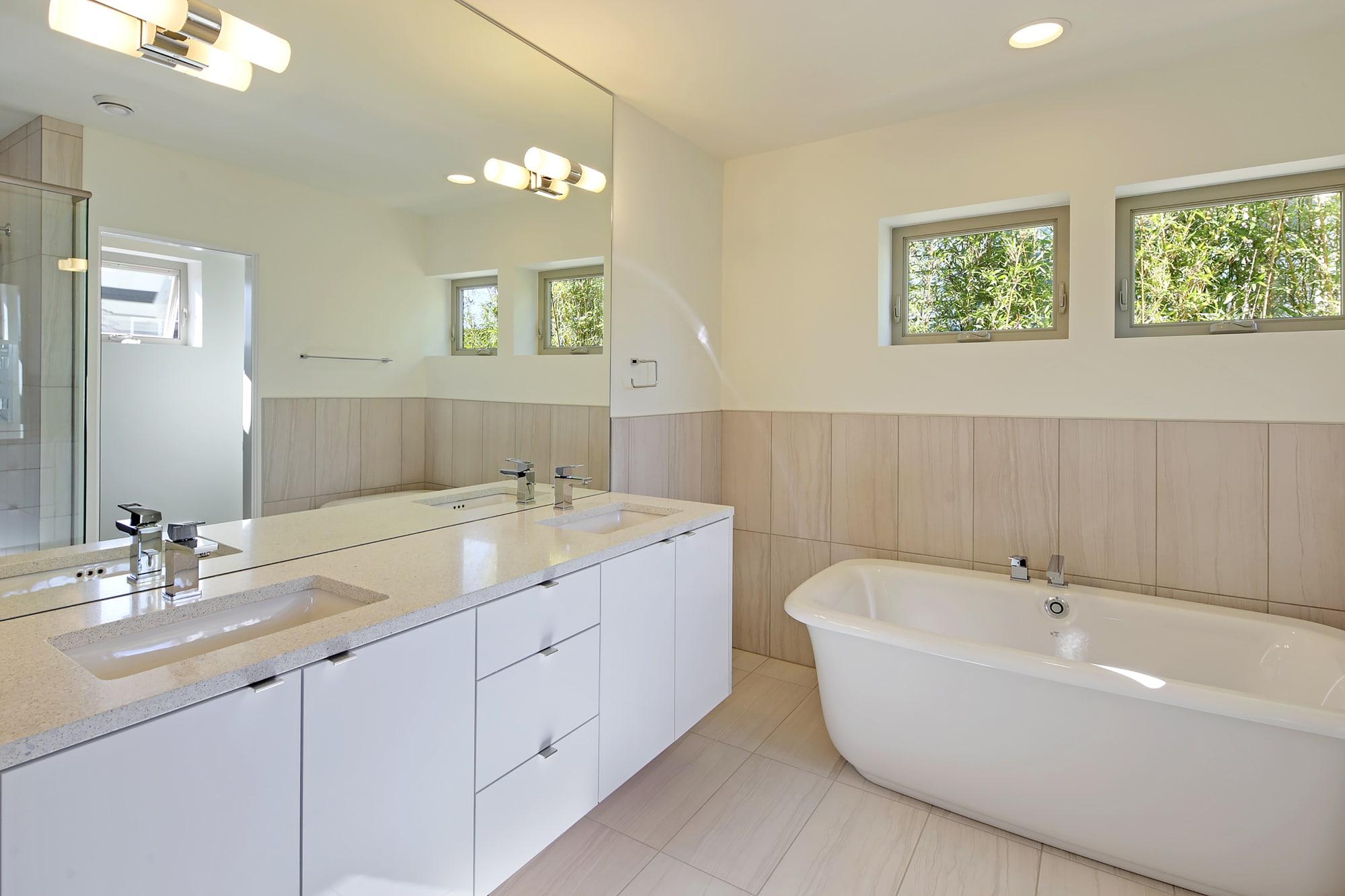 Dise o de cuarto de ba o moderno ecol gico construye hogar - Diseno de cuarto de bano ...