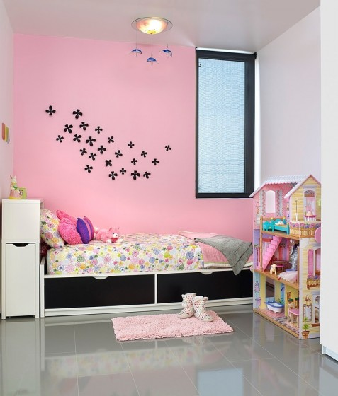 Diseño de dormitorio de niñas