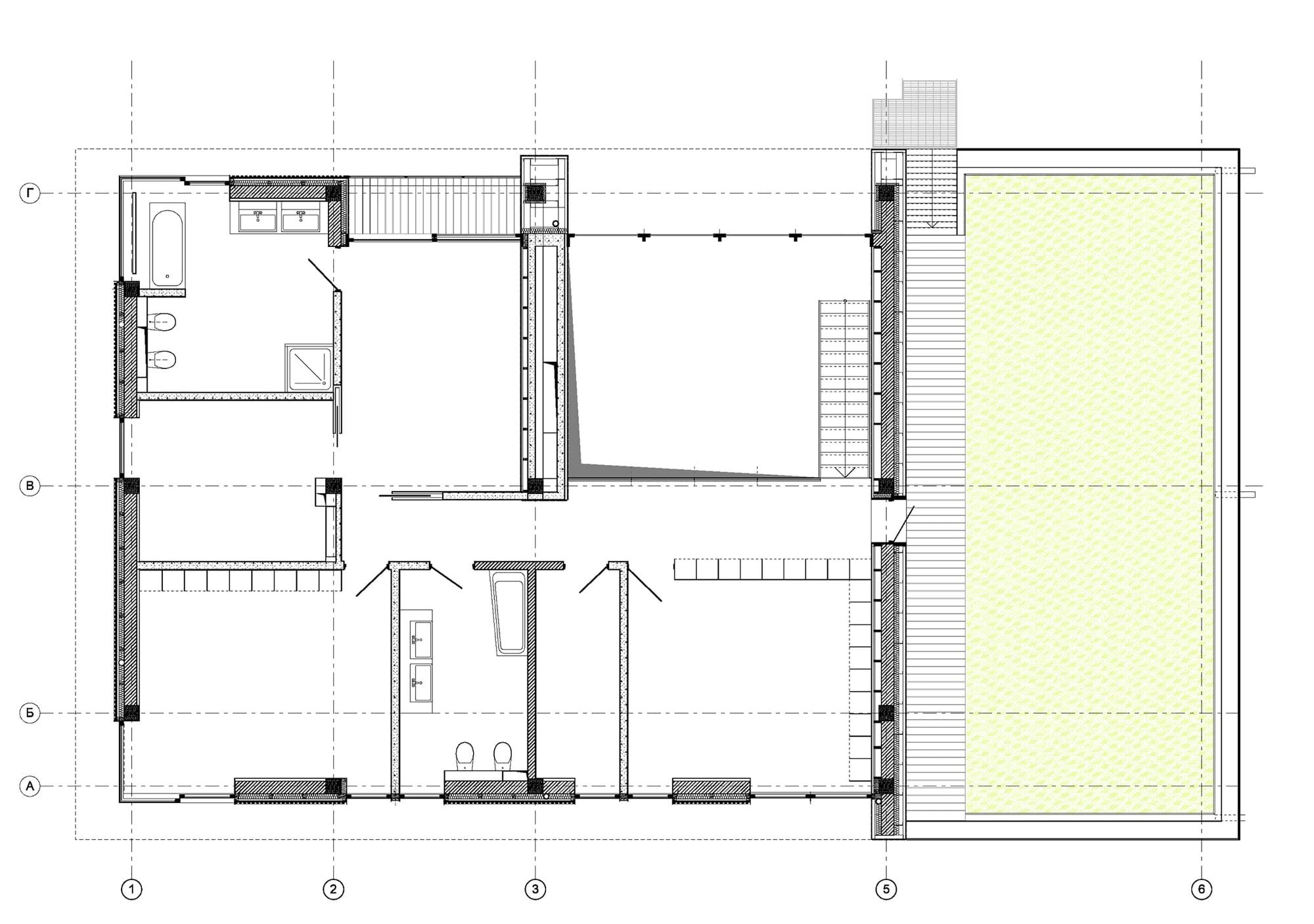 Plano de casa de campo segundo piso construye hogar for Planos para segundo piso
