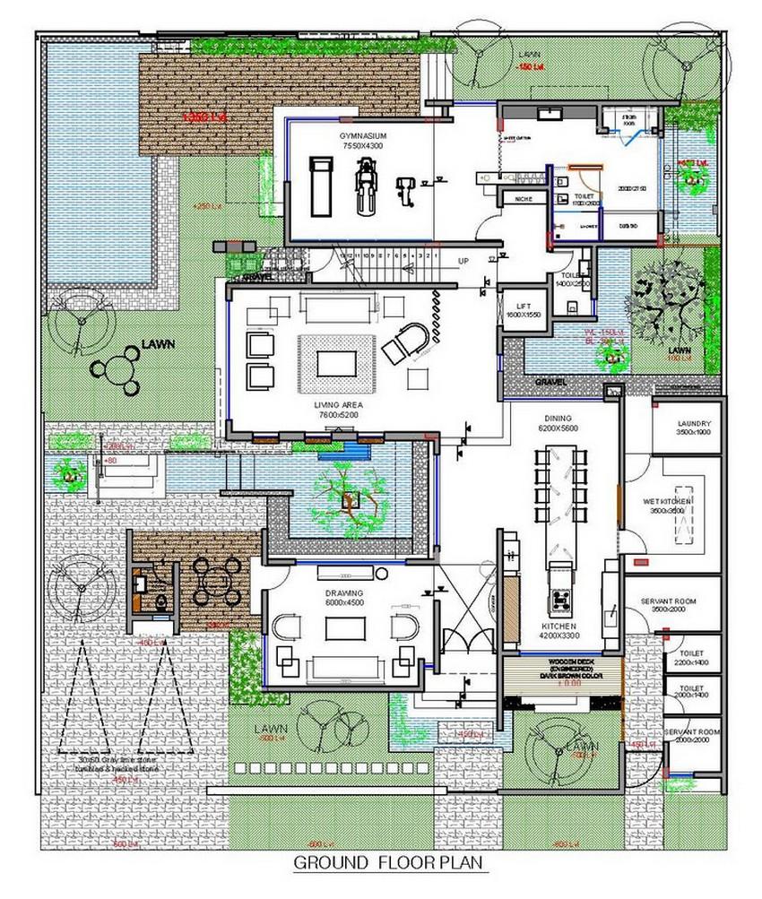 Planos de casa de tres pisos moderna construye hogar - Planos casas modernas 1 piso ...
