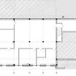Plano de sótano de casa de campo