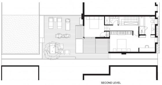 Planos de cas de dos pisos pequeña 002