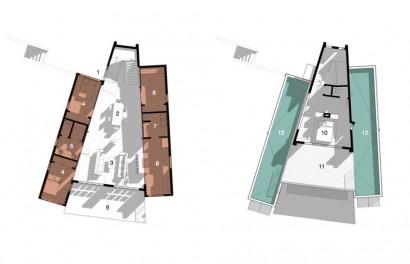 Planos de casa moderna construida con contenedores