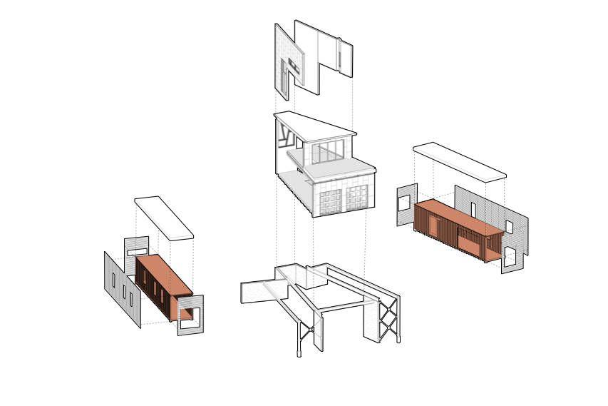 Dise o de casa con contenedores construcci n construye - Diseno de casas con contenedores ...