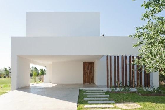 Diseño de casa de dos pisos minimalista