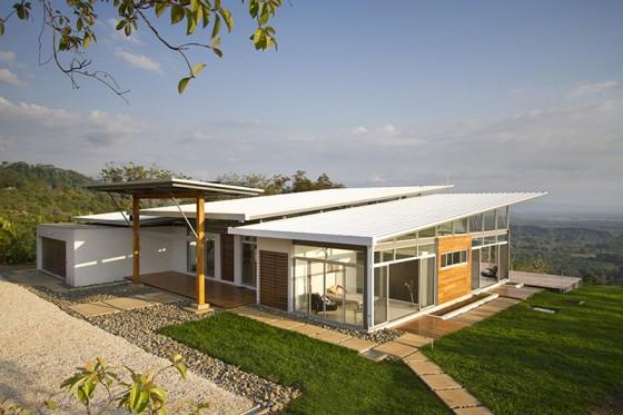 Diseño de casa moderna de una planta