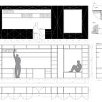 Diseño de estantes con medidas