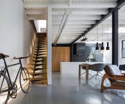 Diseño de  interiores de departamento remodelado