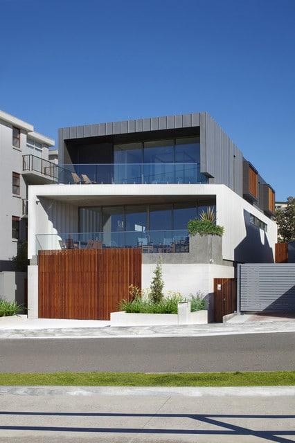 Fachadas modernas de casas de dos pisos construye hogar for Casa moderna and design