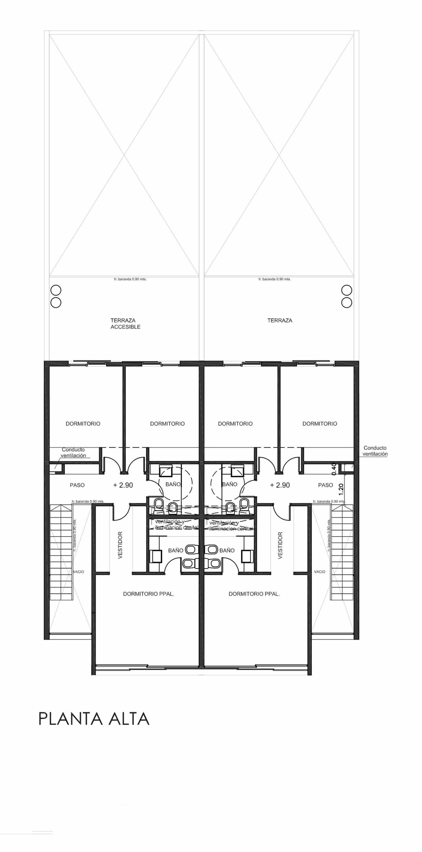 Planos de detalles de casa de dos pisos segundo piso for Planos para segundo piso