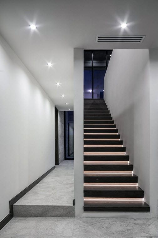 Planos de casa dos pisos de hormig n construye hogar for Escaleras en concreto para casas