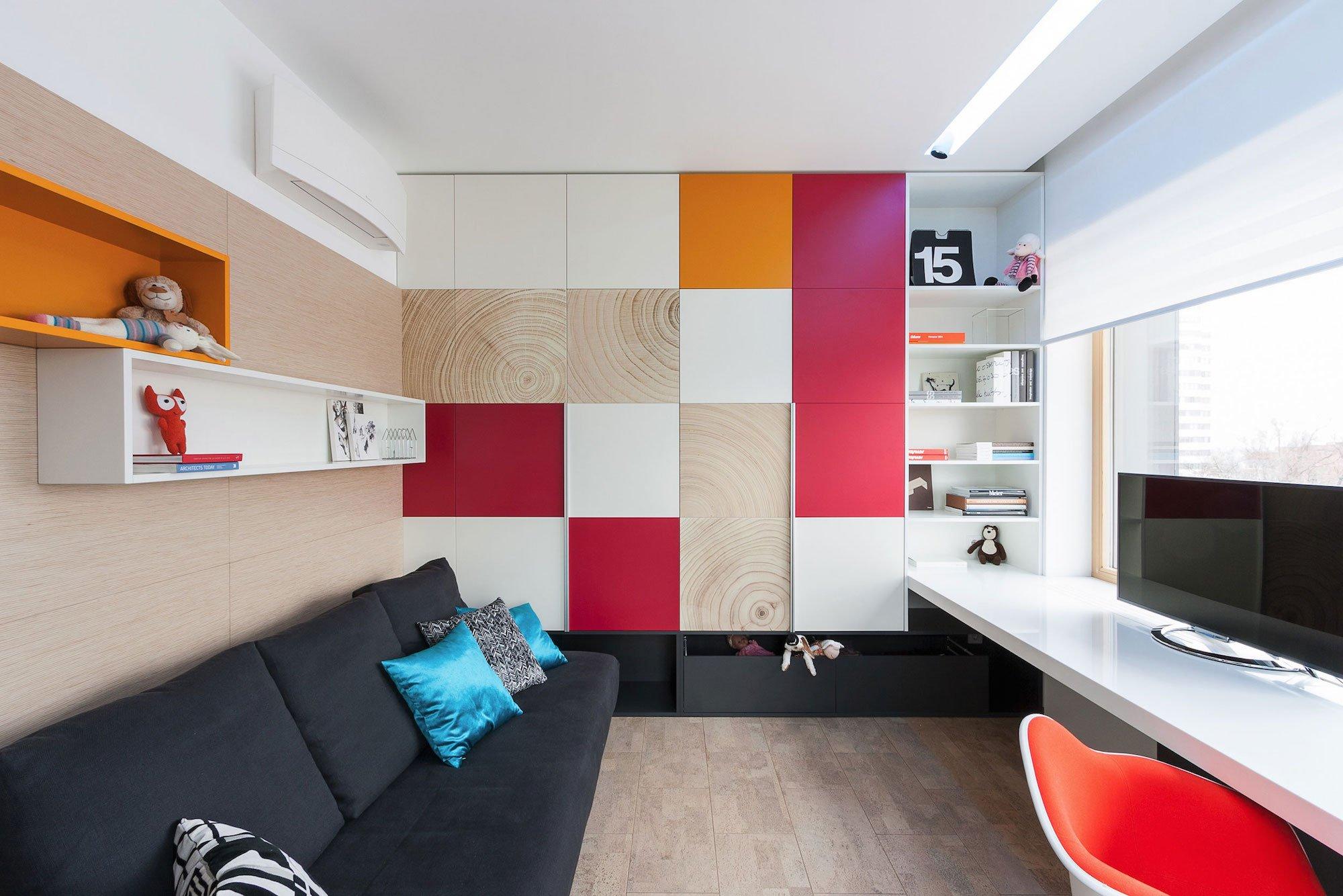 Dise o de cuarto de estudio con decoraci n construye hogar - Decoracion habitacion estudio ...
