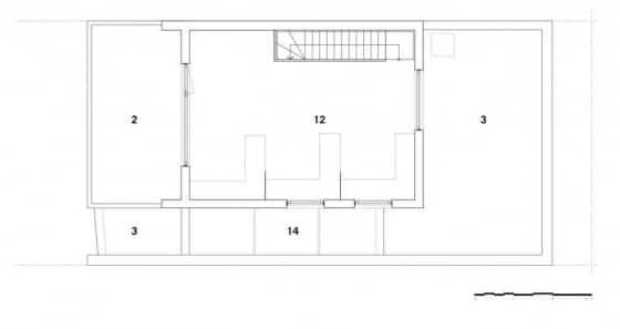 Diseño de cuarto de trabajo y estudio en azotea