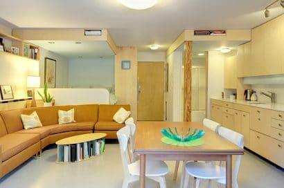 Diseño de departamento un dormitorio