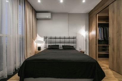 Diseño de dormitorio sencillo de  02