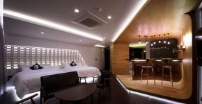 Diseño de interiores de departamento moderno