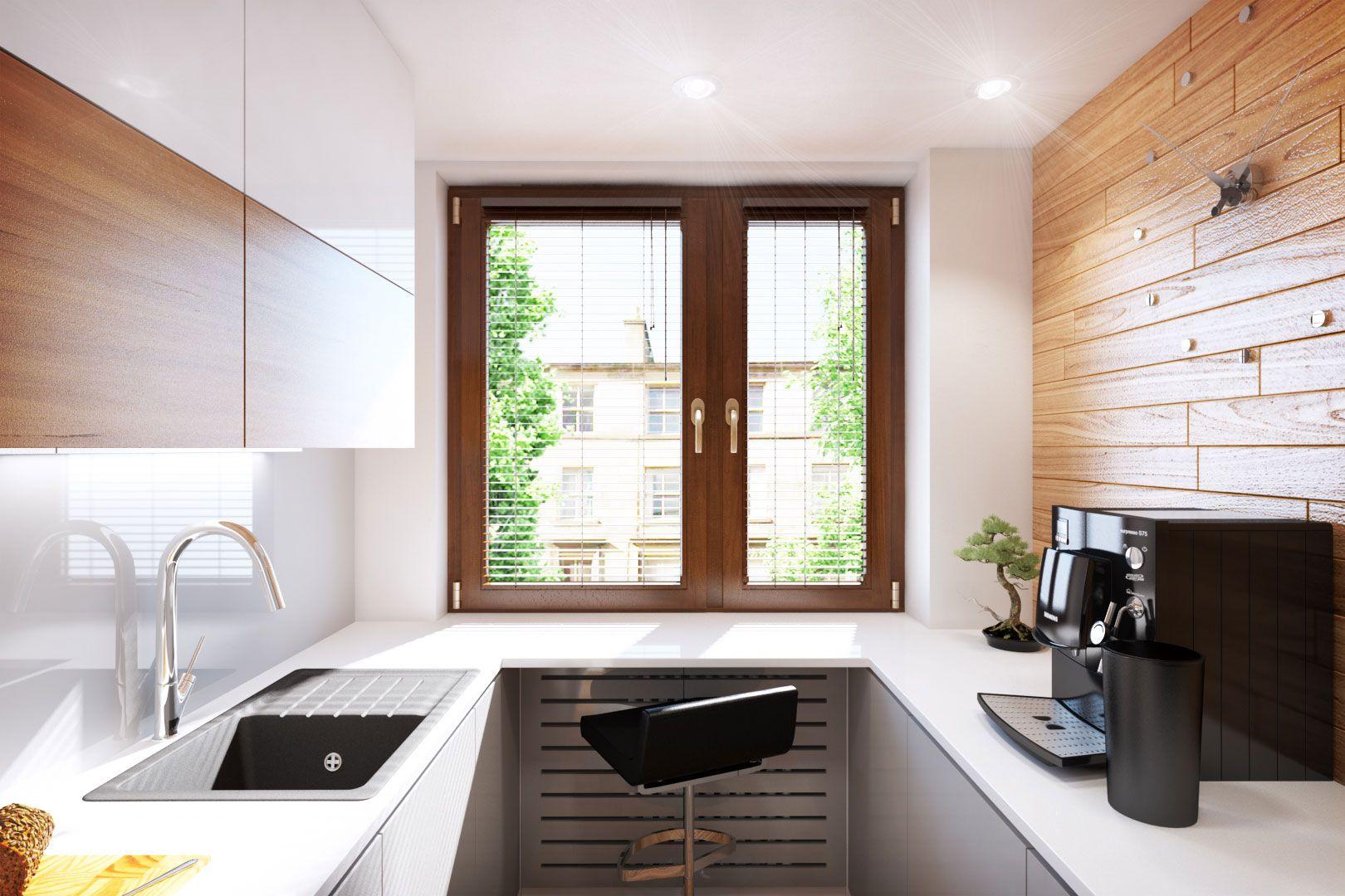 Iluminaci n de cocina muy peque a construye hogar for Diseno cocinas muy pequenas