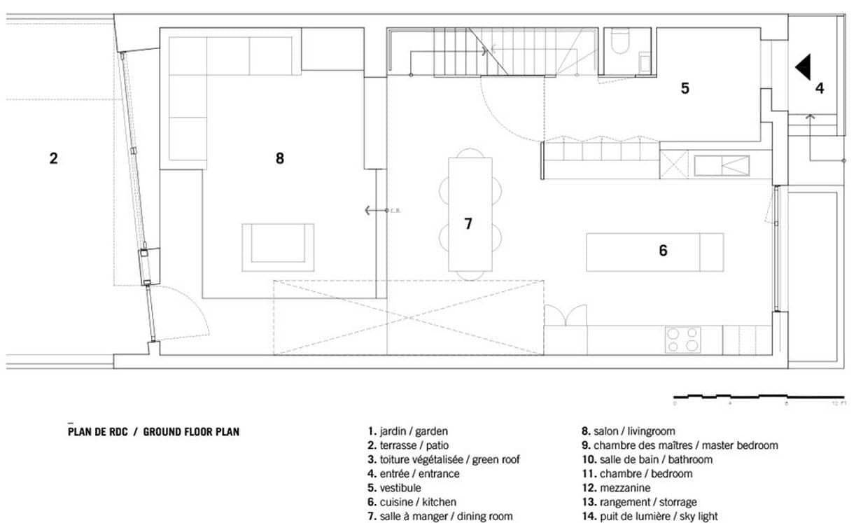 Planos de casas de dos pisos con tres dormitorios planos for Planos de casas de dos pisos gratis