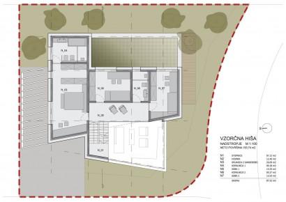 Planos de casa de dos plantas - Segundo piso