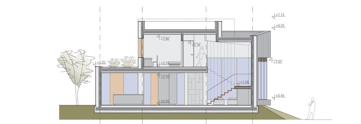 Planos de casa de dos plantas moderna construye hogar for Casa moderna que es