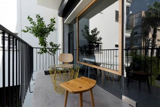 Balcón departamento pequeño