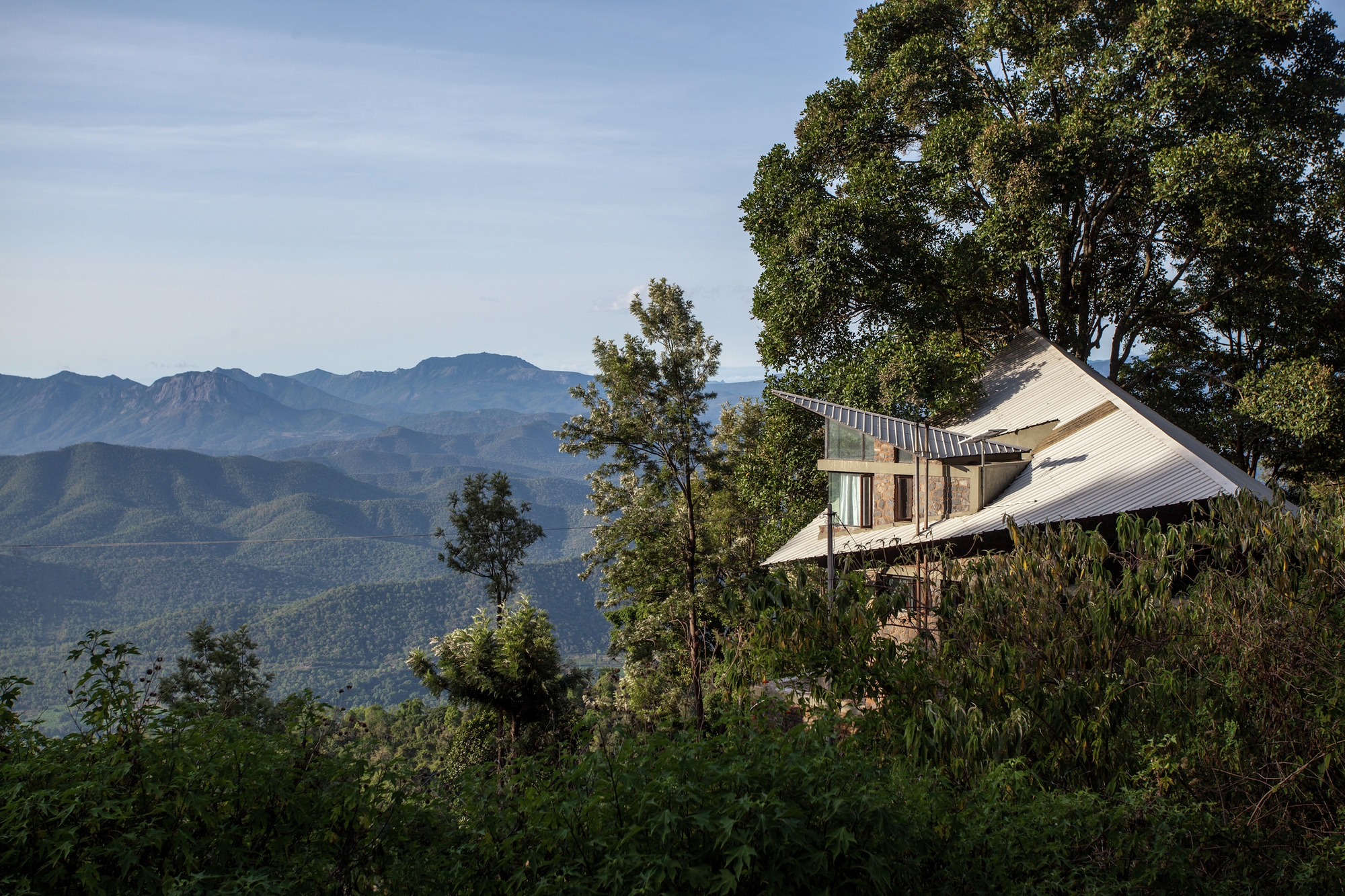Dise o casa campo moderna estructura construye hogar for Construccion casas de campo