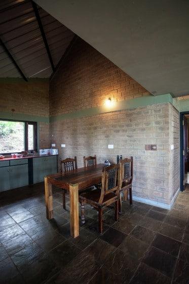 Diseño de comedor casa campo