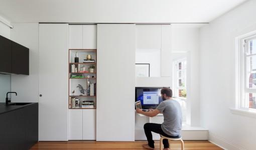 Diseño de departamento de un dormitorio