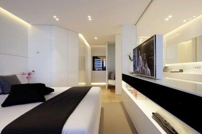 Diseño de dormitorio de departamento