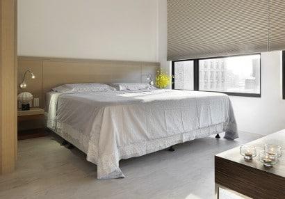 Diseño de dormitorio para departamento