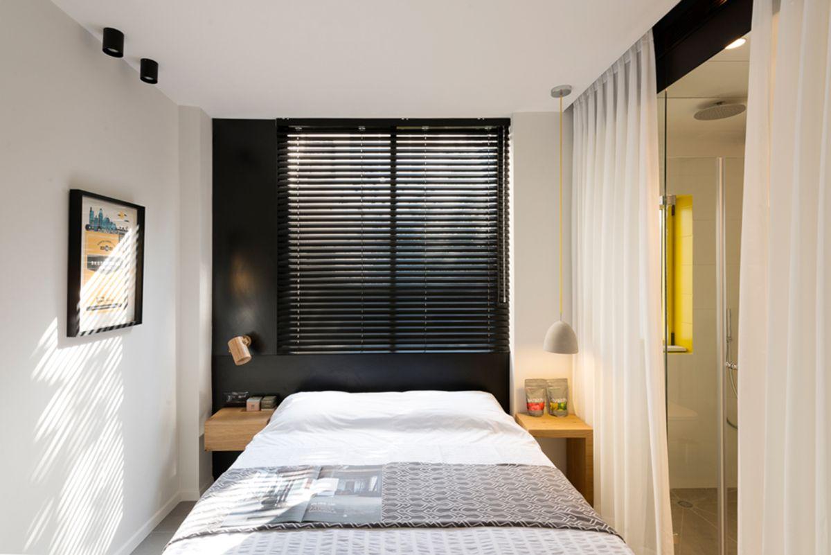 Departamentos peque os 55 metros cuadrados construye hogar - Como amueblar un dormitorio pequeno ...