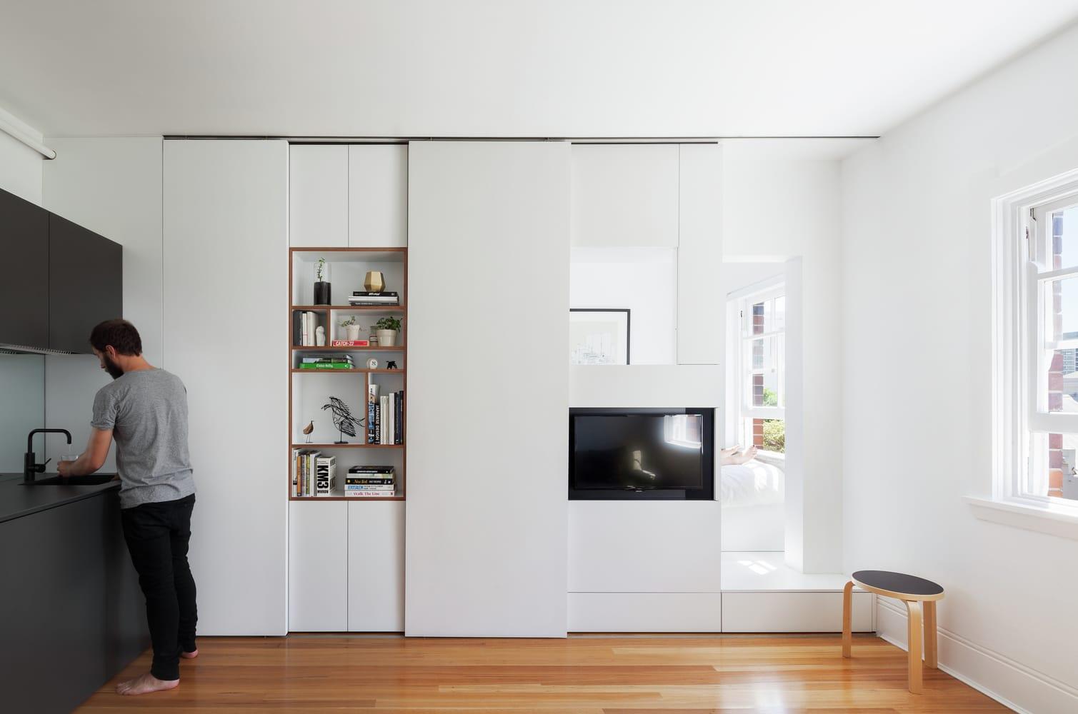 Pr ctico departamento de 27 metros cuadrados construye hogar for Disenos para departamentos