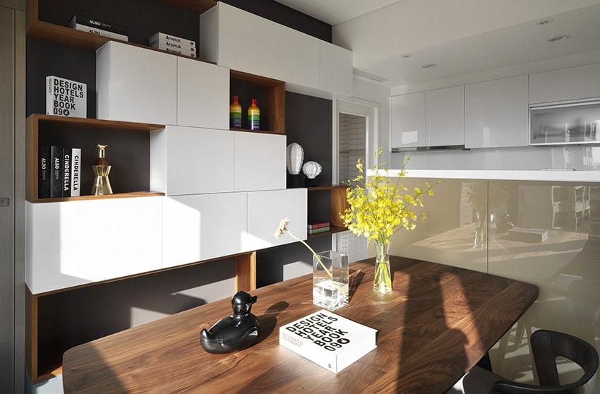 Dise o de estanter a moderna de departamento construye hogar - Construye hogar ...