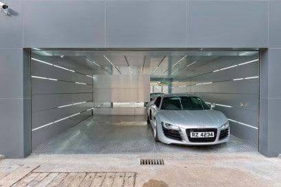 Diseño de garaje moderno
