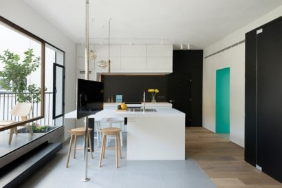 Diseño de kitchenet departamento