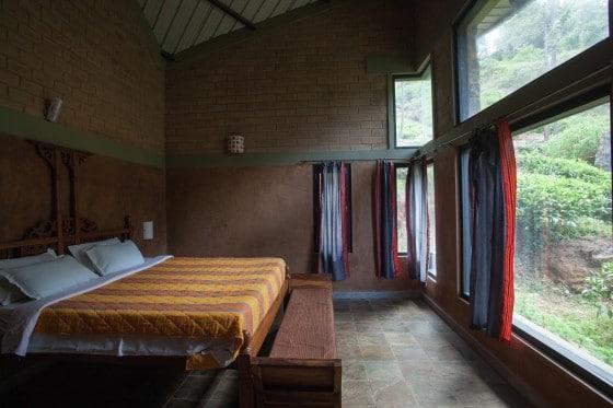 Dormitorio casa rural