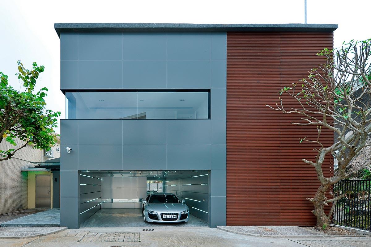 Dise o de casa moderna dos pisos construye hogar - Diseno casas modernas ...