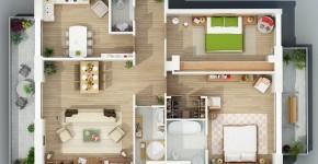 planos de de dos dormitorios seleccin de diseos que te inspiraran en la construccin diseo y planos de casas