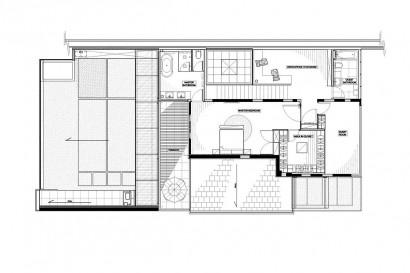 Planos de casa de dos pisos - Segundo nivel