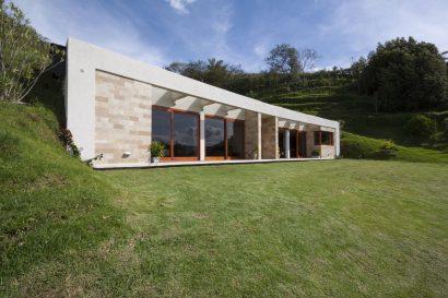 Casa moderna un piso