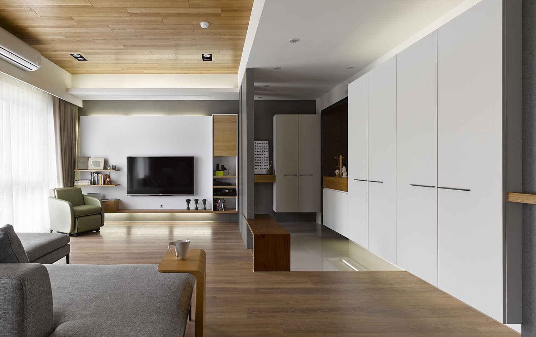 Plano y dise o de interiores departamento construye hogar for Decoracion de interiores para departamentos