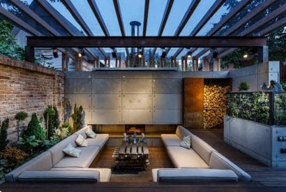 Decoración terraza exterior SVOYA Studio
